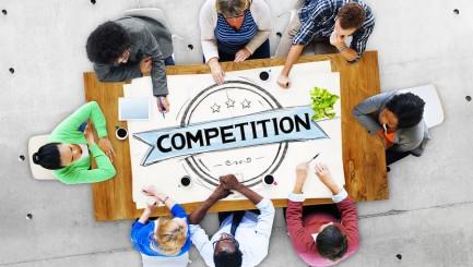Competition Competitive Challenge Contest Race Concept