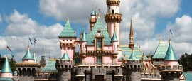 Princess Castle In Disneyland