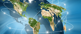 world Map. Best Concept of global business from concepts series.
